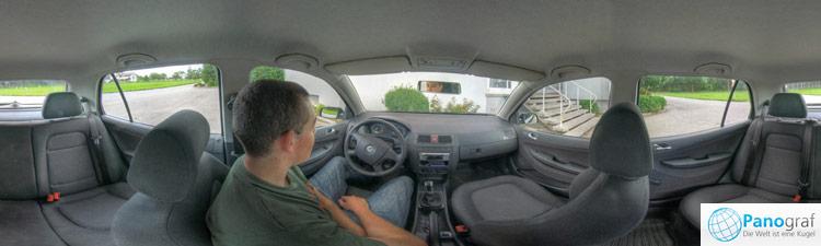 Auto Innenraum Panorama