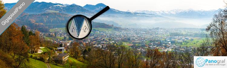 Zoombares GigaPano am Tschütsch in Klaus