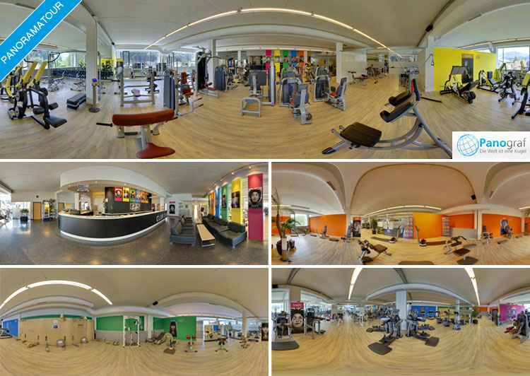 LIFE Fitness Feldkirch Panoramatour durch Fitness-Center