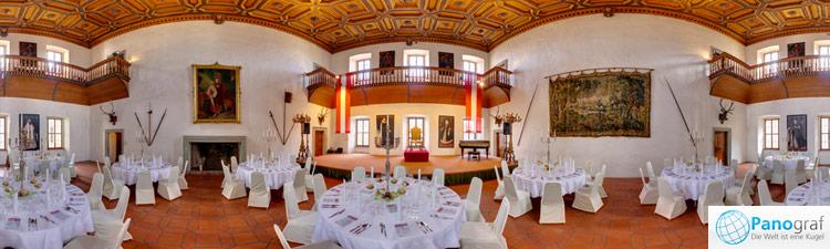 Palast Hohenems Rittersaal