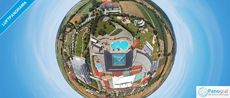 Sonnentherme Lutzmannsburg 360° Luftpanorama