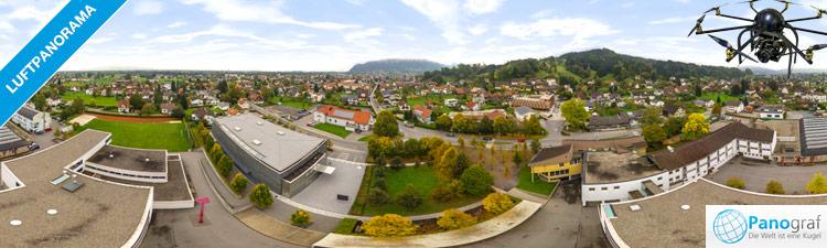 Luftpanorama Gemeinde Wolfurt - Ausstellung