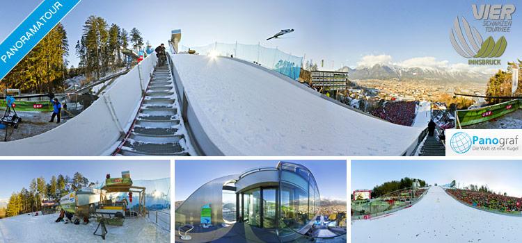 Vierschanzentournee Innsbruck Bergisel 2011 Panoramatour