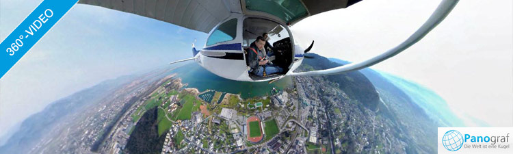 360° Video Bregenz Rundflug