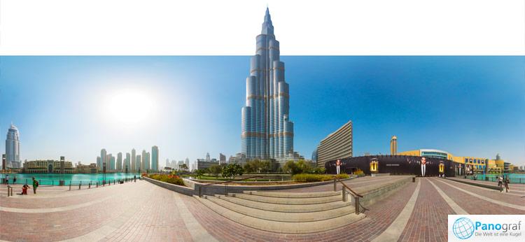 Dubai Burj Khalifa - höchstes Gebäude der Welt