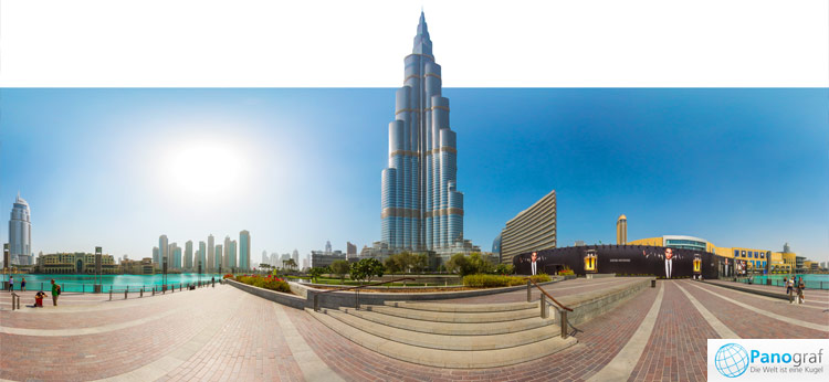 Dubai Burj Khalifa - h�chstes Geb�ude der Welt
