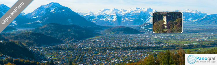 GigaPixel Panorama Vorarlberger Rheintal