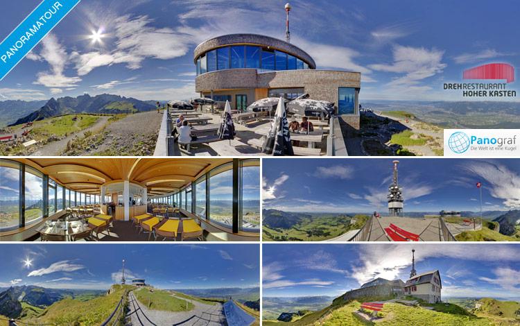 360° Panoramatour Hoher Kasten (Schweiz)