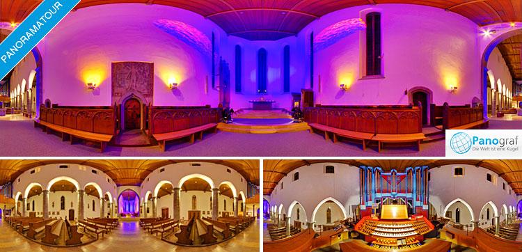 Jugendkirche Ravensburg 360° Panoramatour
