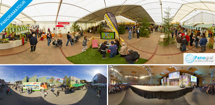 360° Panorama-Tour der Dornbirner Messe