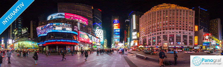 New York Times Square Panorama
