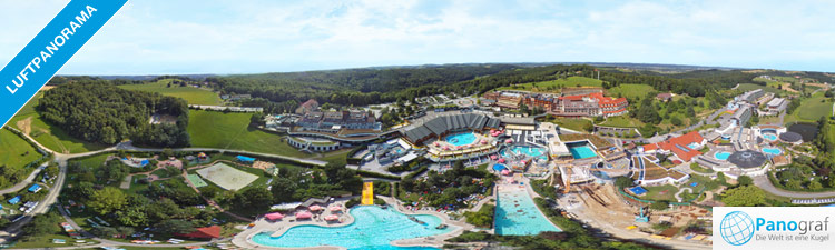 Therme Loipersdorf 360° Luftpanoramafoto
