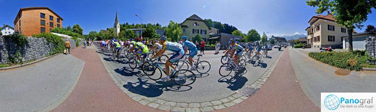 Tour de Suisse in Nofels/Feldkirch